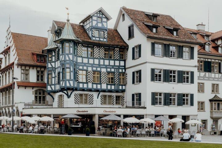 DDie Gallusstadt St. Gallen