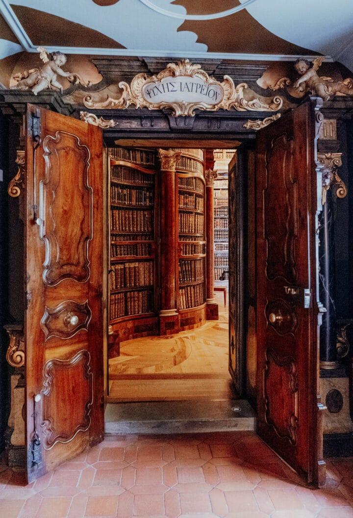Die Stiftsbibliothek in St. Gallen