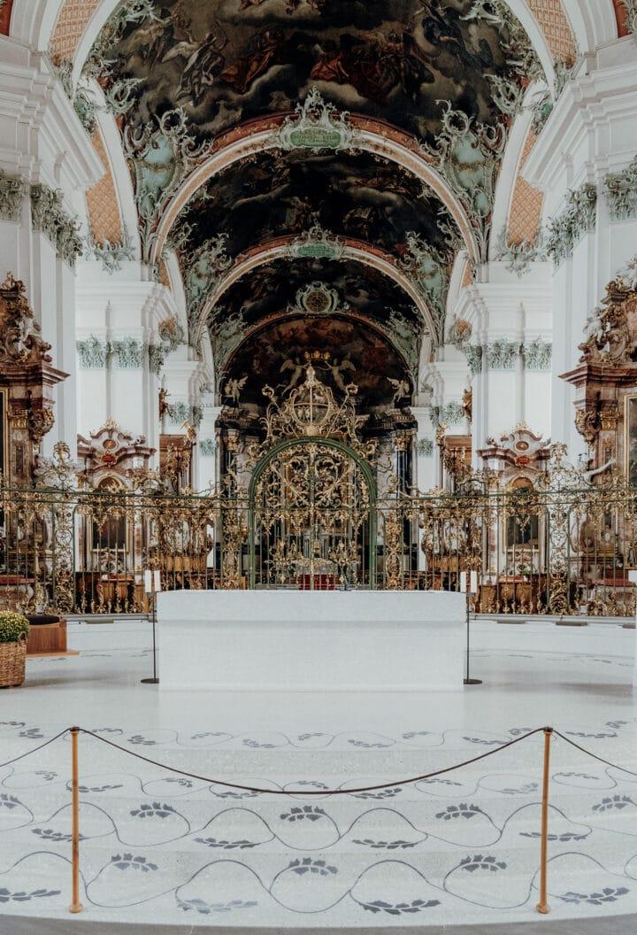 Die Stiftskirche in St. Gallen