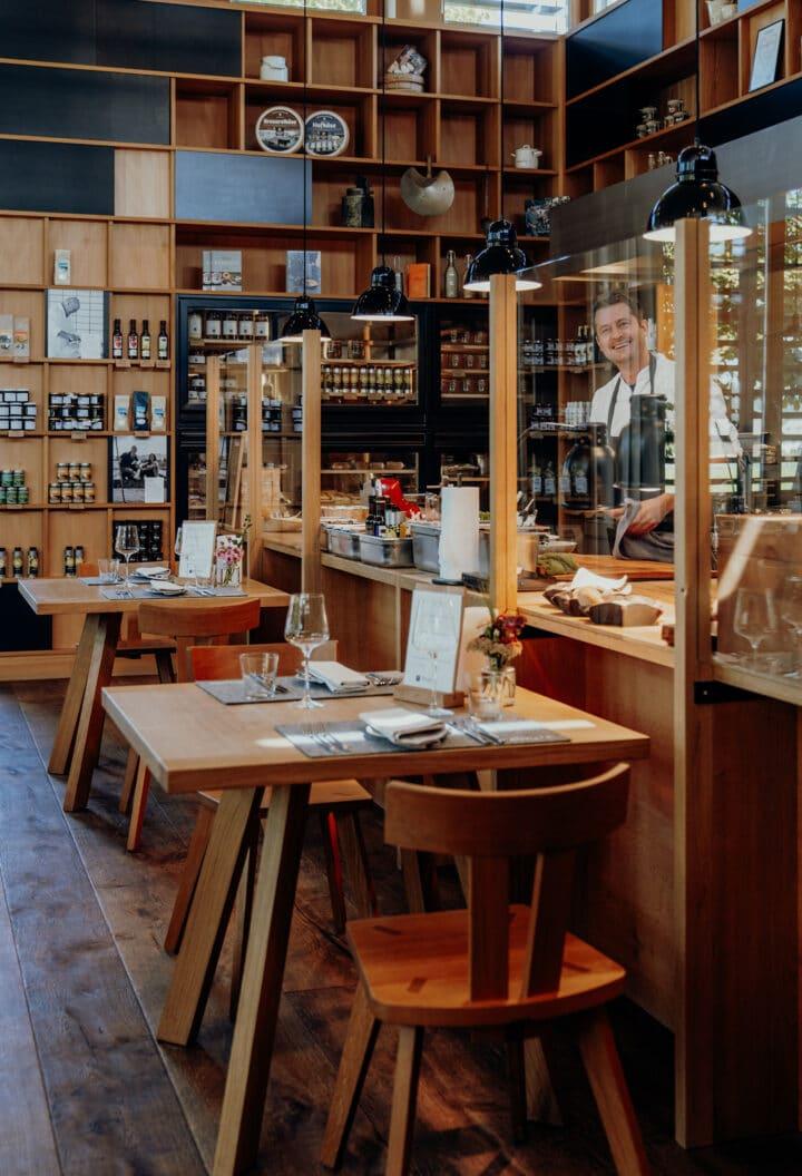 «From nose to tail» im Ernele – die Ladenwirtschaft im Romantik Hotel Das Schiff