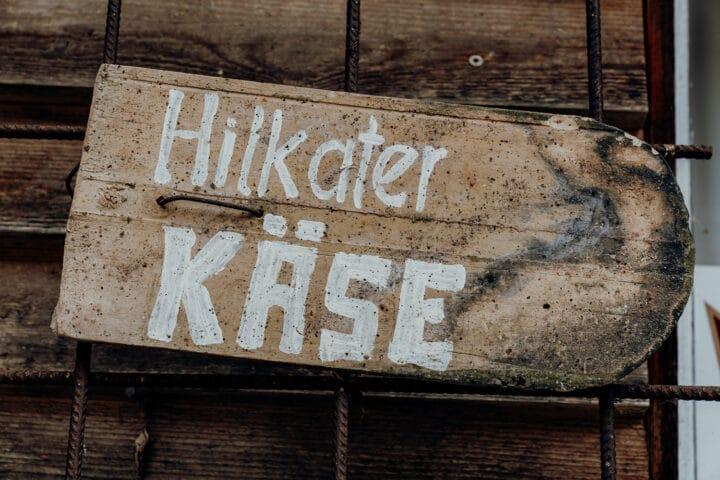 Alles Käse – bei Hilkater Biokäse in Bizau